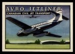 1952 Topps Wings #30   Avro Jetliner Front Thumbnail