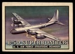 1952 Topps Wings #81   B-50 Superbomber Front Thumbnail