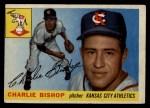 1955 Topps #96  Charlie Bishop  Front Thumbnail