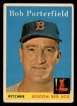 1958 Topps #344  Bob Porterfield  Front Thumbnail