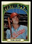 1972 Topps #207  Tom Egan  Front Thumbnail
