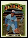 1972 Topps #159  John Boccabella  Front Thumbnail