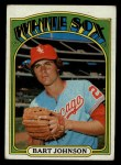 1972 Topps #126  Bart Johnson  Front Thumbnail