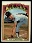 1972 Topps #486  John Lowenstein  Front Thumbnail
