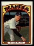 1972 Topps #467  Steve Kline  Front Thumbnail