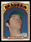 1972 Topps #8  Ron Swoboda  Front Thumbnail