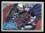 1966 Topps Batman Blue Bat Back #24 BLU  Fangs of the Phantom Front Thumbnail