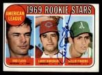 1969 Topps #597   -  Rollie Fingers / Bob Floyd / Larry Burchart AL Rookies Front Thumbnail