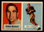 1957 Topps #101  Elbert Nickel  Front Thumbnail
