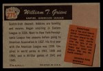 1955 Bowman #275  William Grieve  Back Thumbnail