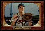 1955 Bowman #217  Del Crandall  Front Thumbnail