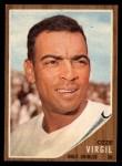 1962 Topps #327  Ozzie Virgil  Front Thumbnail