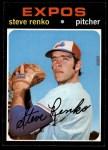 1971 Topps #209  Steve Renko  Front Thumbnail