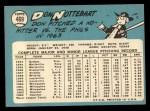 1965 Topps #469  Don Nottebart  Back Thumbnail