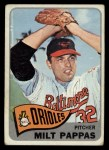 1965 Topps #270  Milt Pappas  Front Thumbnail