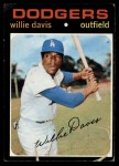 1971 Topps #585  Willie Davis  Front Thumbnail