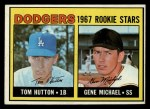 1967 Topps #428   -  Gene Michael / Tom Hutton Dodgers Rookies Front Thumbnail