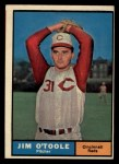 1961 Topps #328  Jim O'Toole  Front Thumbnail