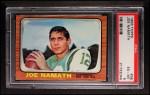 1966 Topps #96  Joe Namath  Front Thumbnail