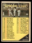 1961 Topps #98 xCR  Checklist 2 Front Thumbnail