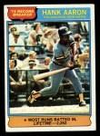 1976 Topps #1   -  Hank Aaron Record Breaker Front Thumbnail