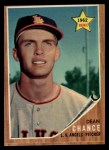 1962 Topps #194 GRN Dean Chance  Front Thumbnail