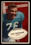 1953 Bowman #34  Lou Creekmur  Front Thumbnail