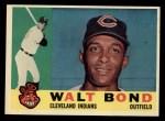 1960 Topps #552  Walt Bond  Front Thumbnail