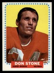 1964 Topps #62  Don Donnie Stone  Front Thumbnail
