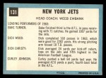 1964 Topps #131   New York Jets Back Thumbnail