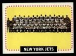 1964 Topps #131   New York Jets Team Front Thumbnail