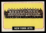 1964 Topps #131   New York Jets Front Thumbnail