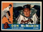 1960 Topps #189  Don McMahon  Front Thumbnail