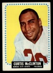 1964 Topps #103  Curtis McClinton  Front Thumbnail