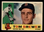 1960 Topps #439  Tom Brewer  Front Thumbnail
