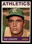 1964 Topps #174  Doc Edwards  Front Thumbnail