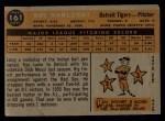 1960 Topps #161  Ray Narleski  Back Thumbnail
