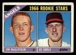 1966 Topps #417   -  Jim McGlothlin / Ed Sukla Angels Rookies Front Thumbnail