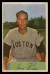 1954 Bowman #210  Jimmy Piersall  Front Thumbnail
