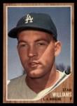 1962 Topps #515  Stan Williams  Front Thumbnail