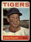 1964 Topps #143  Bubba Phillips  Front Thumbnail