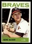 1964 Topps #316  Gene Oliver  Front Thumbnail