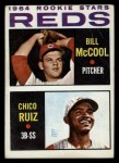 1964 Topps #356   -  Bill McCool / Chico Ruiz Reds Rookies Front Thumbnail