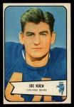 1954 Bowman #127  Joe Koch  Front Thumbnail
