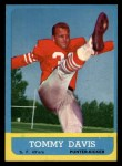 1963 Topps #138  Tommy Davis  Front Thumbnail