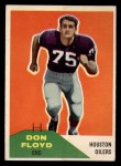 1960 Fleer #113  Don Floyd  Front Thumbnail