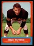 1963 Topps #128  Buzz Nutter  Front Thumbnail