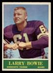 1964 Philadelphia #100  Larry Bowie   Front Thumbnail