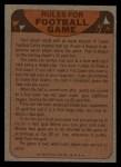 1974 Topps Football Team Checklists #23   Cardinals Team Checklist Back Thumbnail