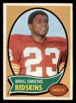 1970 Topps #69  Brig Owens  Front Thumbnail